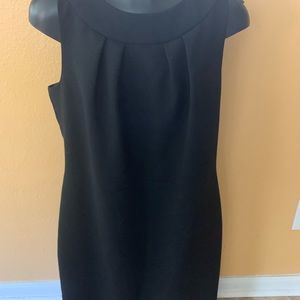 Talbots black dress